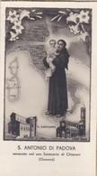 SANTINO - S. ANTONIO DI PADOVA- VENERATO NEL SUO SANTUARIO DI CHIAVARI ( GENOVA ) - Santini