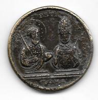 Jeton Religieux Médaille Token Roma Saint Pierre Et Saint Paul. - Italie