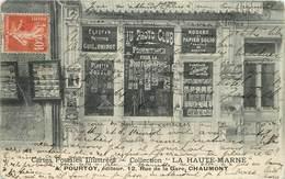 CHAUMONT - A.Pourtoy, éditeur, 12 Rue De La Gare. - Chaumont