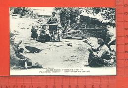 SERBIE: Florina, Tisserandes Au Travail ( Campagne D'Orient 1914-17 ) - Serbia