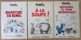 Lot De 3 ALBUMS De PLANTU. Années 87 Et 88 - Books, Magazines, Comics