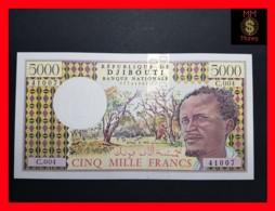 DJIBOUTI 5.000 Francs P. 38 D  UNC - Dschibuti
