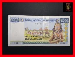 DJIBOUTI 2.000 Francs  1997 P. 40  UNC - Djibouti