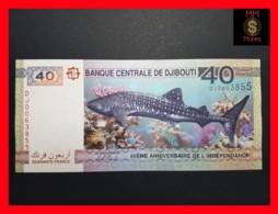 DJIBOUTI 40  Francs 2017  P. NEW Serial DJ - Dschibuti
