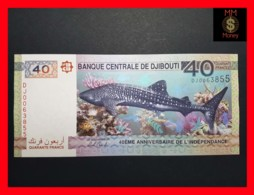 DJIBOUTI 40  Francs 2017  P. NEW Serial DJ - Djibouti