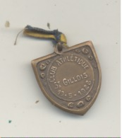 LUTTE - Médaille Du Club Athlétique St Gillois 19/05/1928 (b244) - Athlétisme