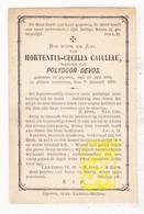 DP Hortentia C. Cailliau ° Ieper 1832 † 1887 X Polydoor Devos - Images Religieuses