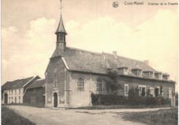 AISCHE-EN-REFAIL   Croix Monet  Extérieur De La Chapelle - Eghezée
