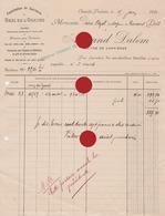 CHANXHE   POULSEUR Armand Dalem Maître De Carrières  En 1912 Vers Pierre Dozot Entrepreneur à Cerexhe Heuseux - Belgique