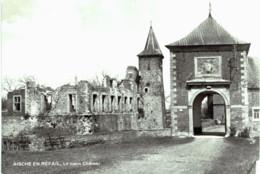 AISCHE-EN-REFAIL Le Vieux Château Grand Format. - Eghezée