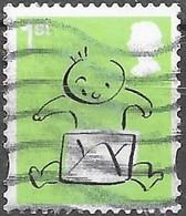 GB - Message - Adhésif - Y&T N° 4099 - Oblitéré - 1952-.... (Elizabeth II)