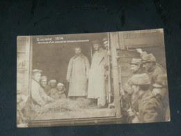 MILITARIA  GUERRE  1914/18  TRAIN DE PRISONNIERS BLESSES ALLEMANDS   / CIRC /  EDITION - Guerre 1914-18
