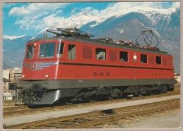 SBB CFF - Ae 6/6 Nr. 11422 Waadt (Vaud) - Bellinzona Am 24.11.1984 - Trains