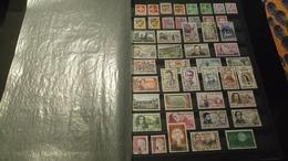 D333 GROS LOT FEUILLES TIMBRES FRANCE NEUFS / OB A TRIER BELLE COTE DÉPART 10€ - Sammlungen (im Alben)