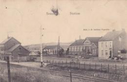 Senzeille Station Ed.J-B. Dellisse Cognelée Circulée En 1910 - Philippeville