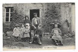 Scènes Du Pays - Le Coiffeur Du Village  ( Vieux Métiers à La Campagne )  ## RARE ##   -  L 1 - Artisanat