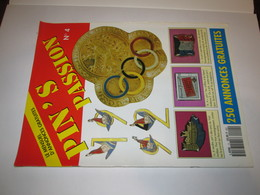 No Pin's  Revue Pin's  PIN'S  PASSION  Numero  4  1991 - Badges