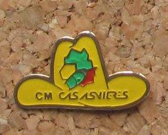 Pin's EDF GDF CMCAS Asnières - EDF GDF