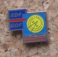 Pin's EDF GDF Services Bourgogne Du Sud - EDF GDF