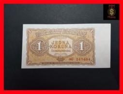 CZECHOSLOVAKIA  1 Koruna 1953 P. 78b  UNC - Tchécoslovaquie