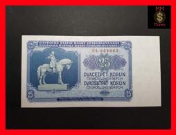 CZECHOSLOVAKIA  25 Korun 1953 P. 84b  UNC - Tchécoslovaquie
