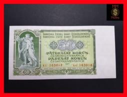 CZECHOSLOVAKIA  50 Korun 1953 P. 85b   UNC - Tchécoslovaquie