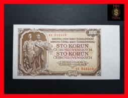 CZECHOSLOVAKIA  100 Korun 1953 P. 86b - Tchécoslovaquie