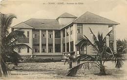 Pays Div -ref P308- Togo - Lomé - Bureaux Du Cable - Carte Bon Etat - - Togo