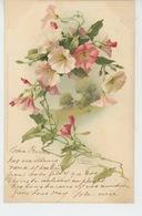 FLEURS - Jolie Carte Fantaisie Fleurs Signée CATHARINA KLEIN  - Edit. Meissner & Buch - Klein, Catharina
