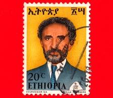 ETIOPIA - Usato - 1973 - Imperatore Haile Selassie - 20 - Etiopia