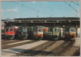SBB CFF - Re 4/4 II 11382, 11142, 11108, 11181 Und 11249 - Trains