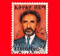 ETIOPIA - Usato - 1973 - Imperatore Haile Selassie - 35 - Etiopia