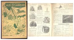 Scoutisme Aux éclaireurs   1938    Catalogue - Scoutisme