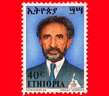 ETIOPIA - Usato - 1973 - Imperatore Haile Selassie - 40 - Etiopia