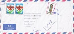 31167. Carta Aerea Certificada  TEHERAN (Iran) 1981 To Spain, Barcelona - Irán