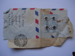SUDAN  STAMPS ON PAPERS   WITH POSTMARK  1959  ATHENS XALANDRION - Soudan (1954-...)