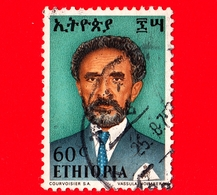 ETIOPIA - Usato - 1973 - Imperatore Haile Selassie - 60 - Etiopia