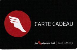 ## Carte  Cadeau  ATHLETE'S FOOT  ##    Gift Card, Giftcart, Carta Regalo, Cadeaukaart - Cartes Cadeaux