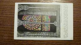 75, PARIS, NOTRE DAME,  ROSE SUD VUE DES GALERIES, VITRAUX COLORISES - Notre Dame De Paris