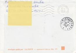 OBLIT. AMBULANT PARIS à RENNES 8.1995 - Railway Post
