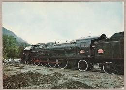 Vallorbe Prés - Sous - Ville S.N.C.F. 241 P 30 Schneider 1947 - Trains