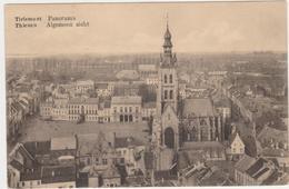 Tienen, Thienen, Tirlemont,Prachtig Panorama Stadscentrum, Zeldzame Kaart! - Tienen