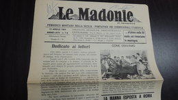 LE MADONIE PERIODICO MONTANO DELLA SICILIA N.7 1984 - Livres, BD, Revues