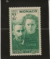 MONACO -TIMBRE N°167 NEUF SANS CHARNIERE -ANNEE 1938 - COTE : 24 € - Monaco