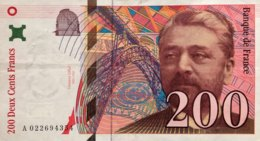 France 200 Francs, P-159a (1996) - Very Fine - 1992-2000 Aktuelle Serie