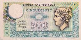 Italy 500 Lire, P-94 (2.4.1979) - UNC - [ 2] 1946-… : Républic