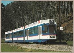 RBS Bern - Solothurn Be 4/8 Nr. 84 - Gümligen Am 2.4.1988 - Trains