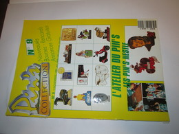 No Pin's  Revue Pin's  PIN'S  COLLECTION  Numero  9   , 1  NOV 1991 - Badges