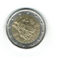 COMM / ITALIE 2014 Pièce De 2 Euros / De Circulation /1814-2014 - 200 ème Année Création Brigade CARABINIERS /circulée - Italia