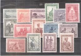 Ruanda-Urundi - 92/109 - Série Complète - X/MH - Ruanda-Urundi